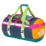 The North Face Base Camp Duffel S Storm Blue / Cone Orange