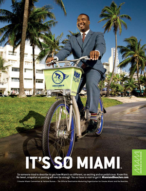 "Miami et sa nouvelle campagne ""Stay, Play, and Go Green"""